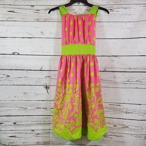 Rare Editions Rose Polka Dot Dress (16)